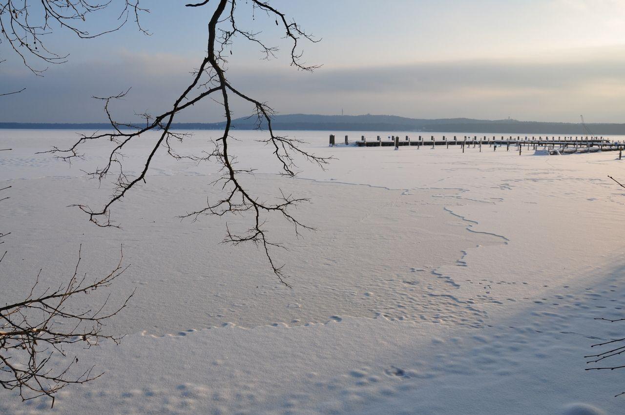 köpenick im winter .