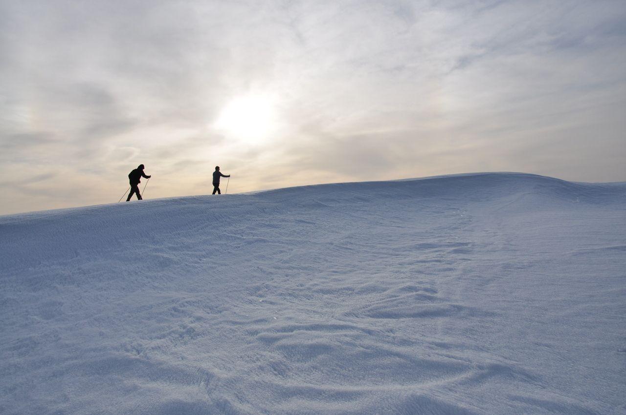 schneewandern .
